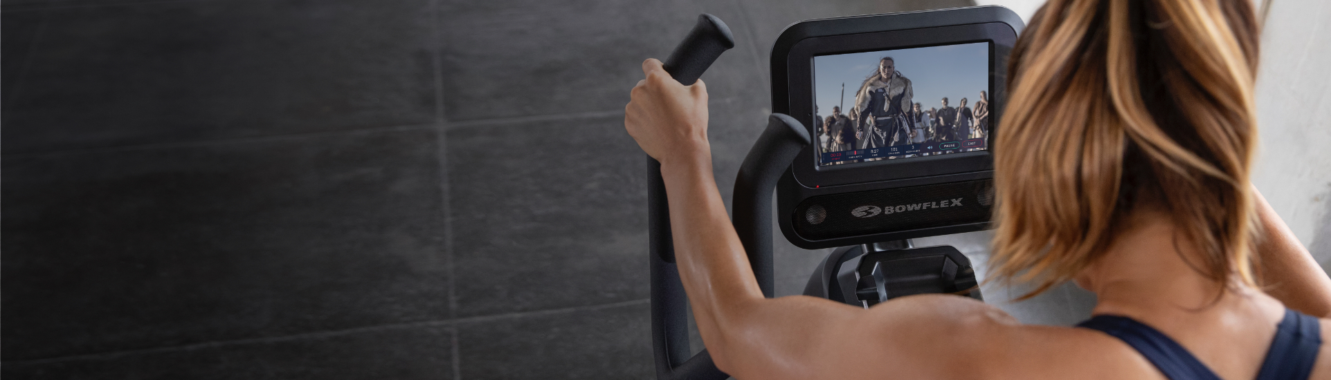 Watch streaming videos while working out on Max Total