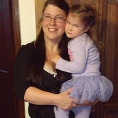 Katrina and her daughter