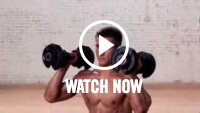 Lunge shoulder press video