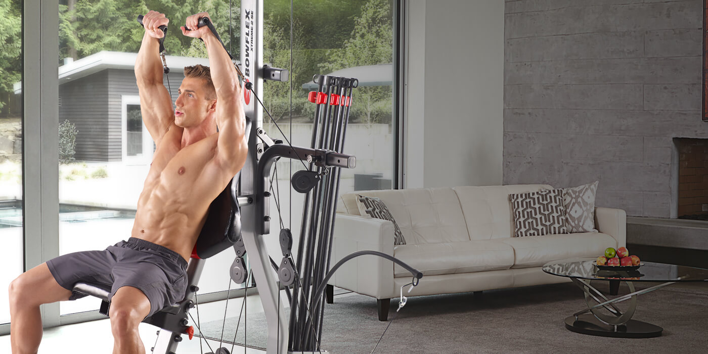 Strengthen and tone your abs with Bowflex Home Gyms