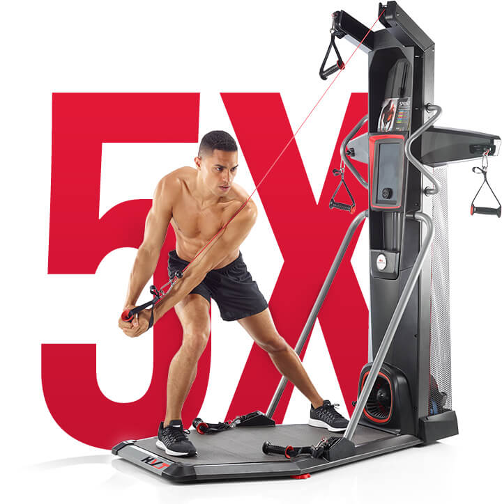 HVT - up to 5X muscle activation