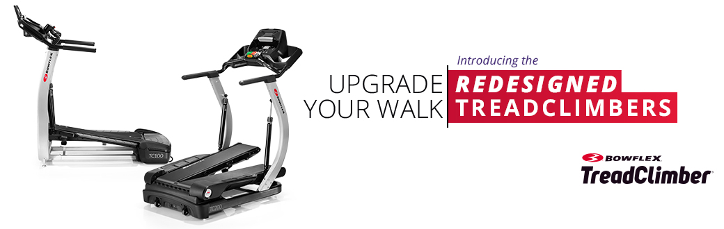 Upgrade Your Walk: Introducing the Redesigned Bowflex TreadClimbers