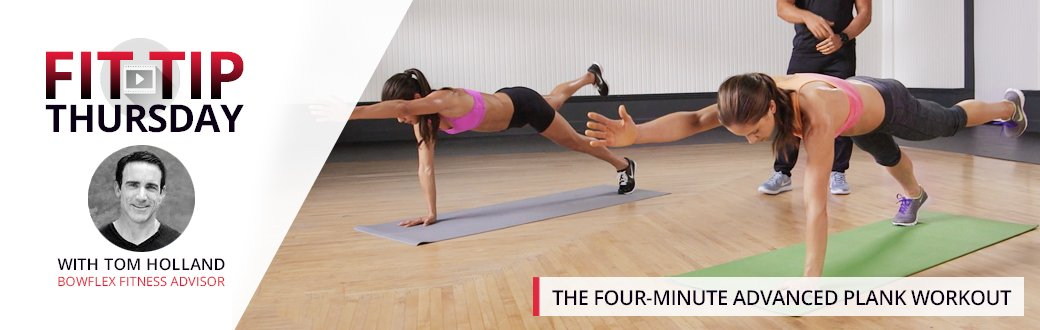 The Four-Minute Advanced Plank Workout