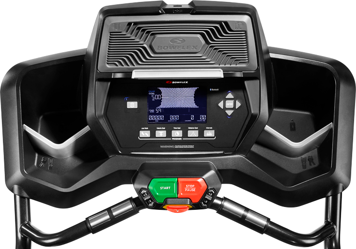 The TreadClimber TC200 console comes with enhanced interactivity and digital connectivity