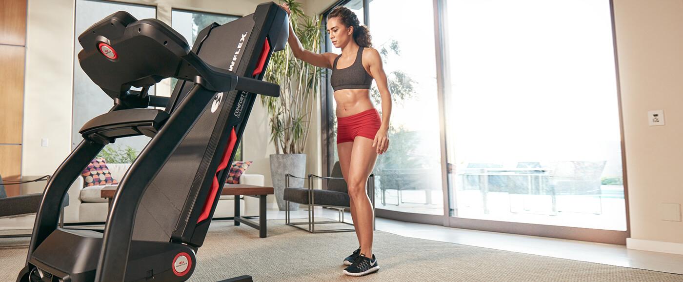 Folding BXT116 Treadmill