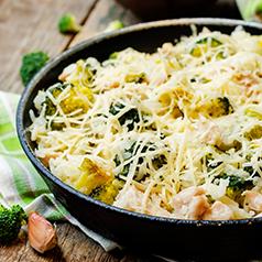 Chicken Rice Butternut Squash Casserole Closeup