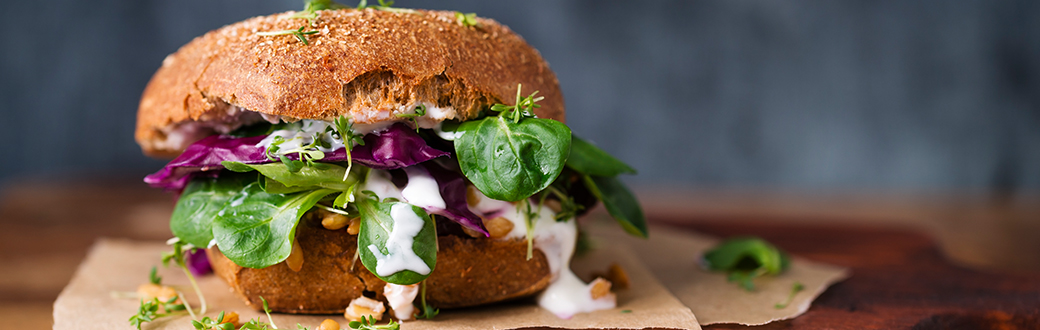 ultimate healthy burger recipe