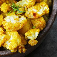 Roasted Cauliflower close up image