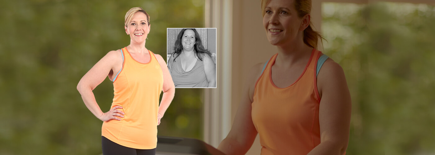 Autumn lost weight with a TreadClimber