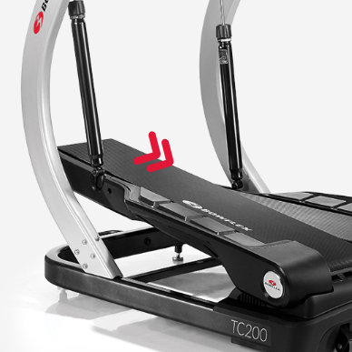 treadmill movement with arrows