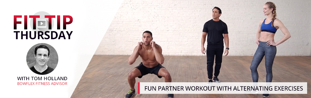 Fun Partner Workout with Alternating Exercises