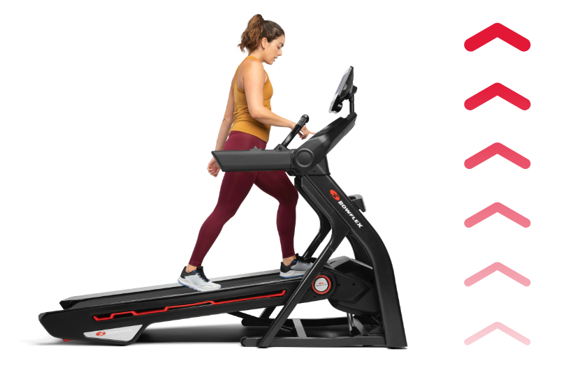 Treadmill 10 comes with motorized incline and decline capabilities