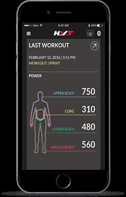 HVT App - Last Workout