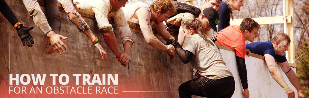 How to train for an obstacle course race.