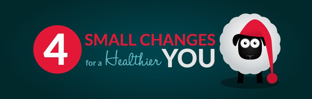4 Small Changes For A Healthier You