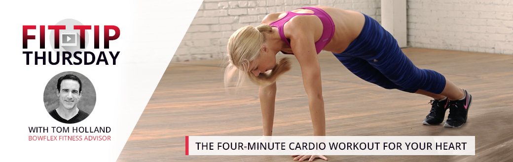 The Four-Minute Cardio Workout for Your Heart