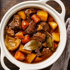 Close up image of Instant Pot stew