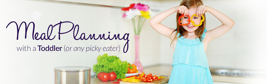 Meal Planning with a Toddler (or Any Picky Eater)