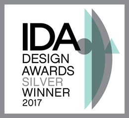 IDA Design Awards Silver Winner 2017