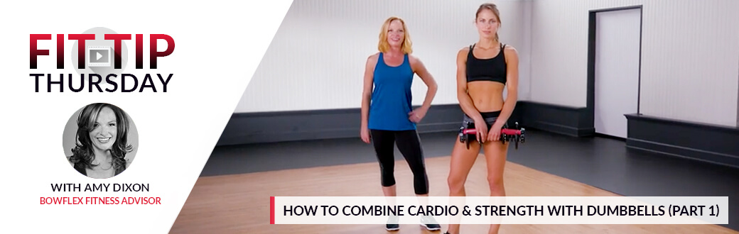 How to combine Cardio and Strength with Dumbbells