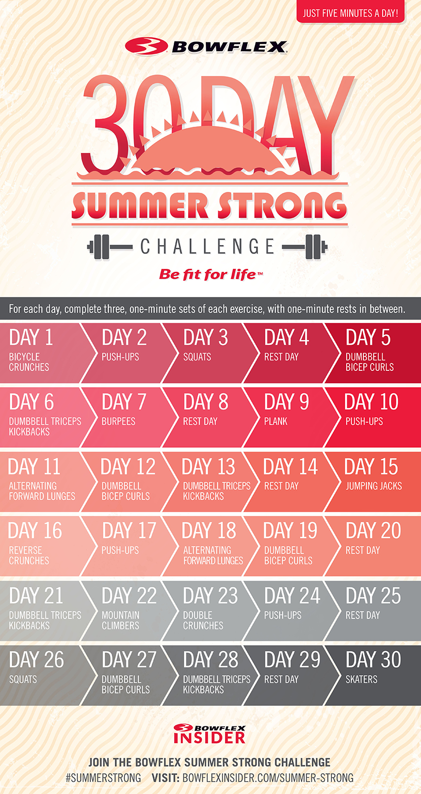 Bowflex 30-Day Summer Strong Challenge