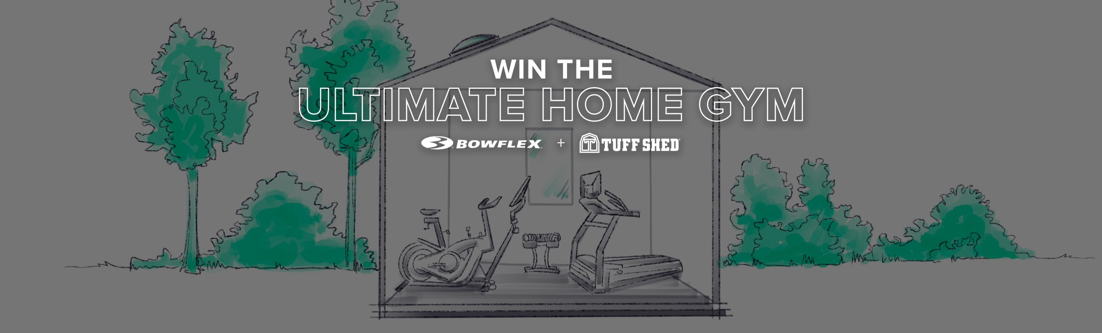 Win the Ultimate Home Gym Bowflex + Tuff Shed.