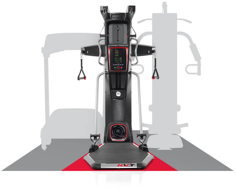 Size of the HVT+ versus a treadmill or traditional home gym