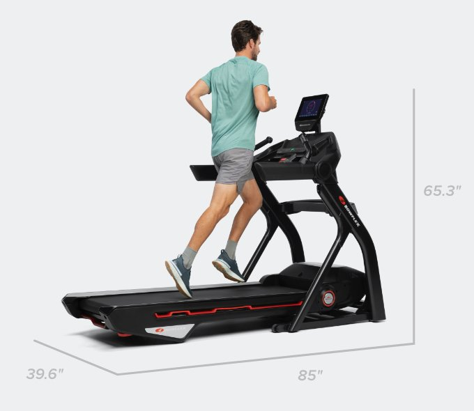 Treadmill 10 dimensions - 85 x 39.6 x 65.3 inches