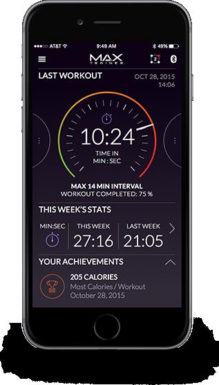 Max Trainer App - Sync