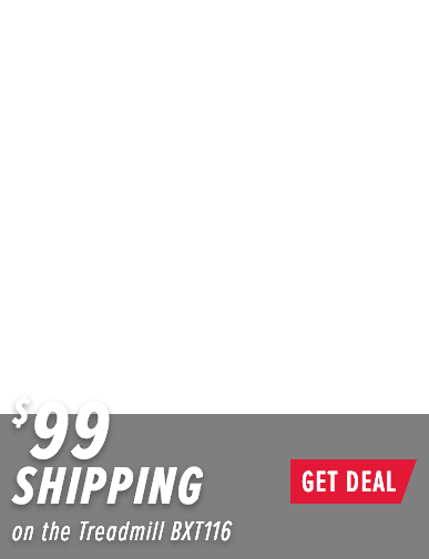 Bowflex BXT116 Treadmill Offer