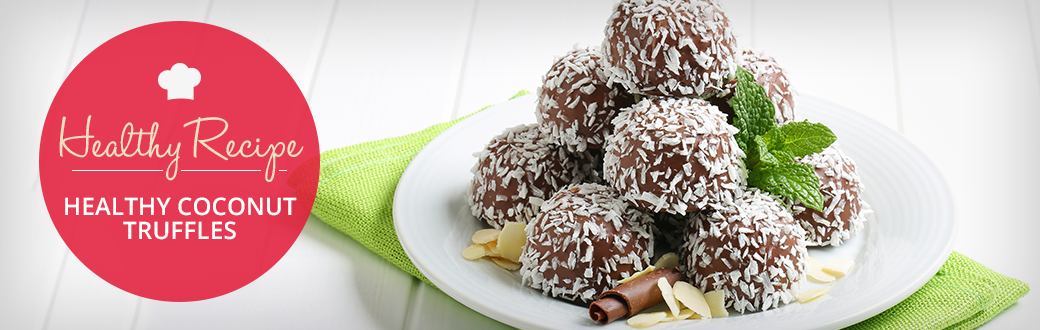 Healthy Coconut Truffles