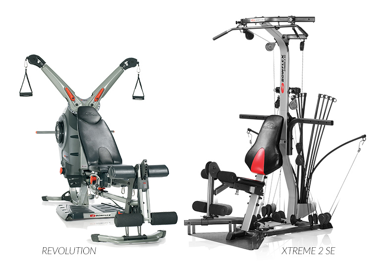 Bowflex Revolution Space Requirements: Compare Bowflex Home Gyms