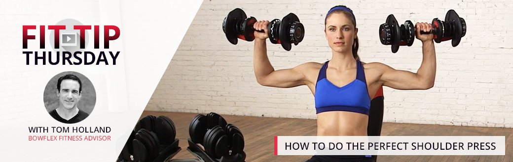 How to do the Perfect Shoulder Press