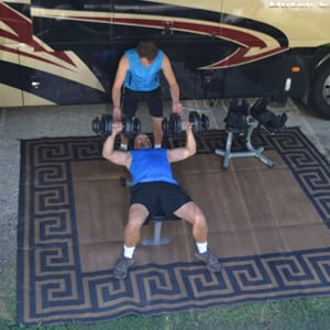 Fitness as a Family: Q&A with the Kellogg Family Mobile Workout Station